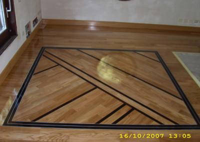Disegno quadrato con bindello panga panga